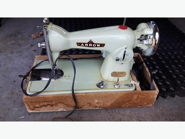 Antique Arrow Sewing Machine Esquimalt View Royal Victoria Impressive Arrow Sewing Machine