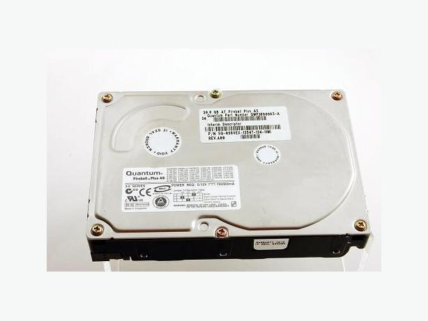 30 GB HDD + DVD-RW