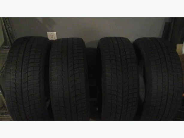 Michelin XIce winter tires 205/55/16