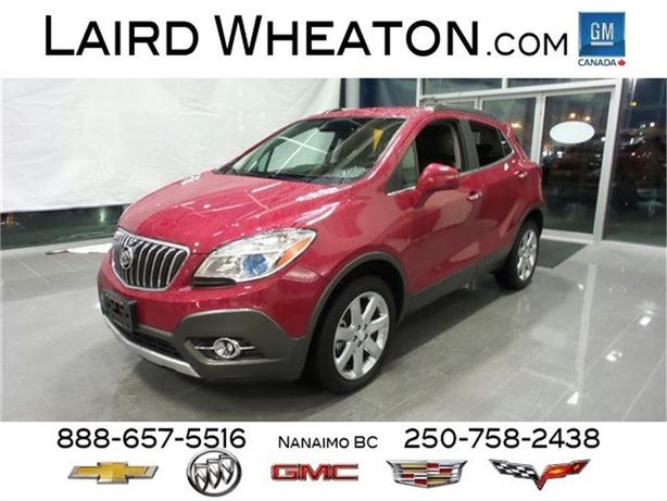 2013 Buick Encore Premium AWD w/ Ultrasonic Front & Rear Park Assist