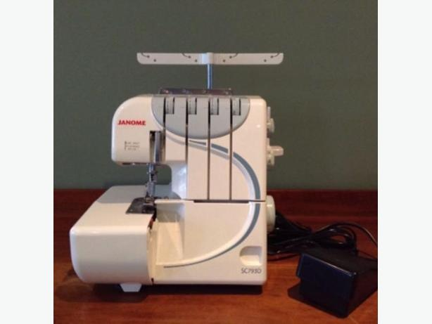 *Never Used* new Janome Serger