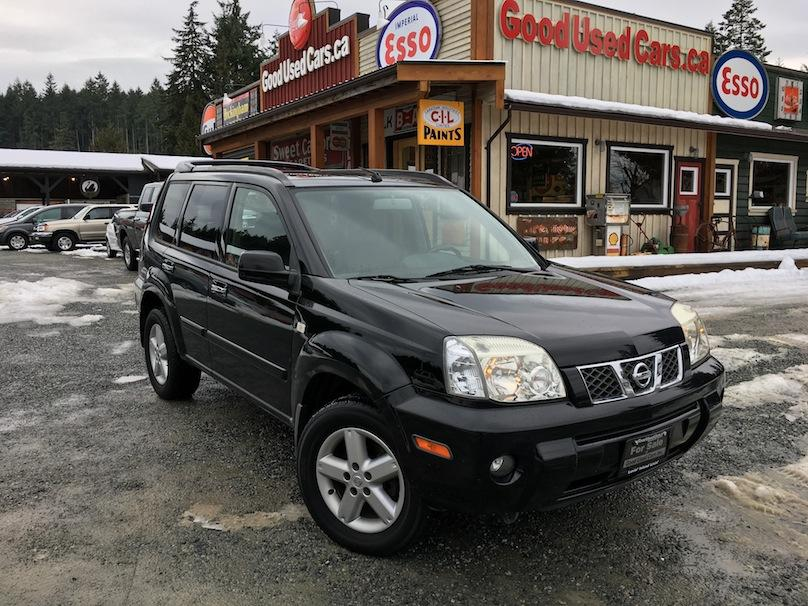 2005 Nissan Xtrail Le Leather Sunroof 4wd Lock Amp Heated Seats Outside Comox Valley