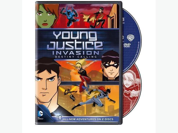 Young Justice Season 2 Part One DVD Set