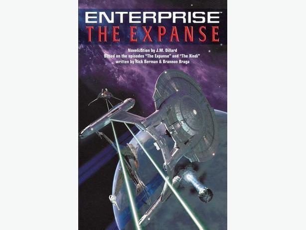 Star Trek Enterprise: The Expanse trade paperback