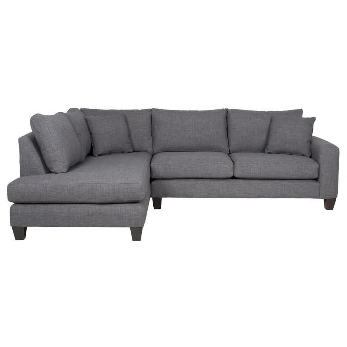 Urban Barn Grey Sectional Couch Saanich, Victoria
