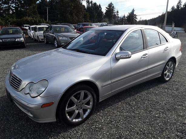 2003 mercedes c230 kompressor outside comox valley courtenay comox. Black Bedroom Furniture Sets. Home Design Ideas