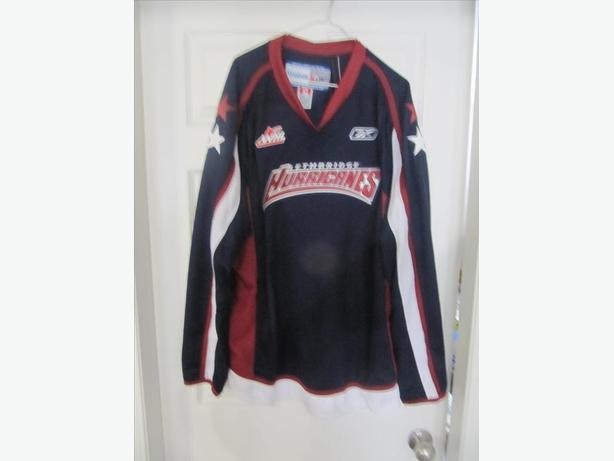 Lethbridge Hurricanes 2010 Reebok Jersey. Stitched. Men's XL