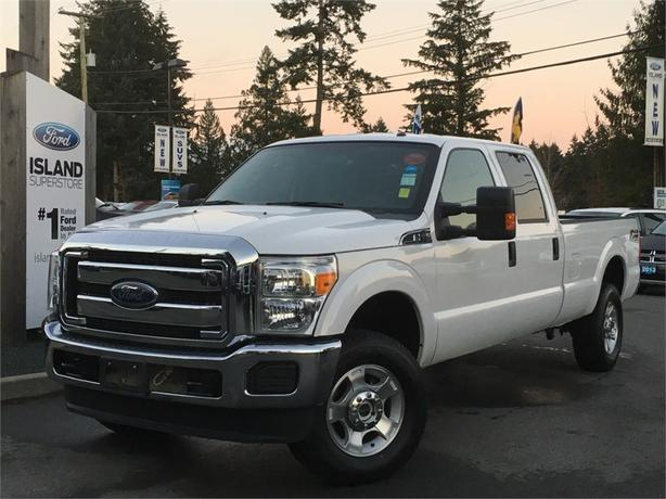 2015 Ford F-350 Super Duty SRW XLT FX4 V8 SuperCrew