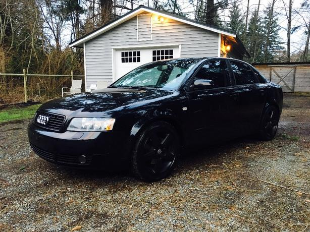 2005 audi a4 quattro awd 1 8t courtenay comox valley. Black Bedroom Furniture Sets. Home Design Ideas