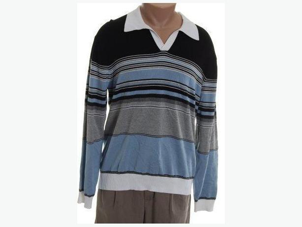 PERRY ELLIS Striped Sweater - Men's XL - NEW