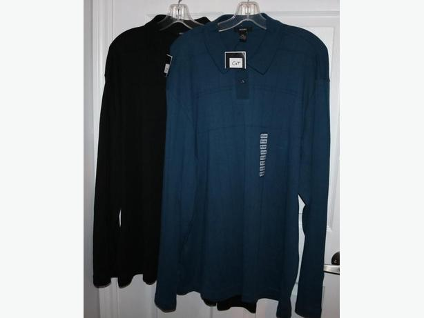 ALFANI Long Sleeve Polo - 2XL - XXL - NEW