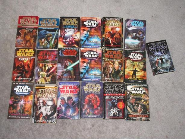 20 star wars Pocket books for $40
