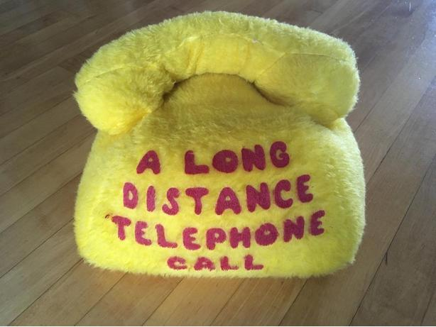 Stuffed telephone