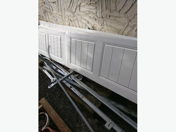 Chamberlin opener and 9 foot wide x 7 foot high sectional for 10 foot high garage door