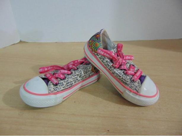 bf175db3ece06e Runners Childs Size 5 Infant Baby Converse All Star Pink Multi Canvas