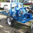INDUSTRIAL GORMAN RUPP PUMPS w DUETZ AIR COOLED DIESEL