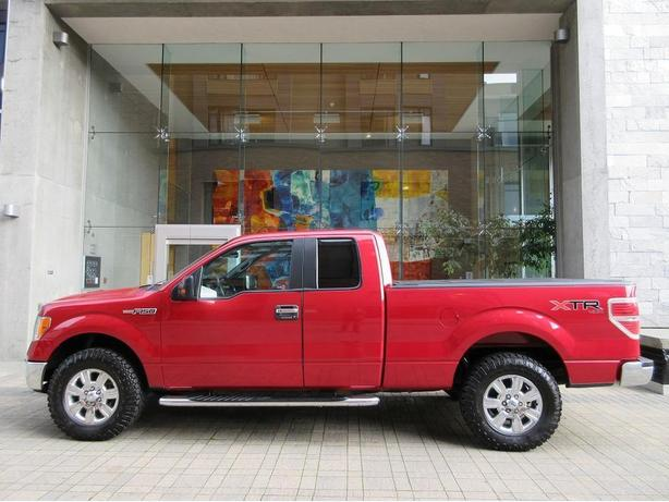2010 ford f150 xlt xtr super cab 4x4 on sale no accidents outside cowichan valley cowichan. Black Bedroom Furniture Sets. Home Design Ideas