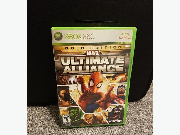 Marvel Ultimate Alliance Gold Edition Xbox 360