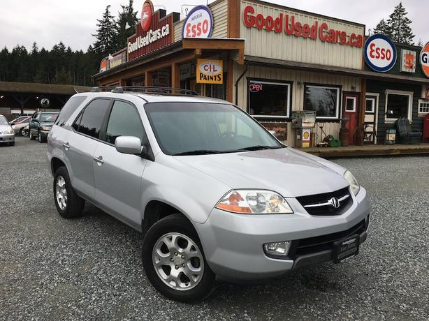 2002 acura mdx awd fully loaded 7 passenger luxury suv outside comox valley campbell river. Black Bedroom Furniture Sets. Home Design Ideas