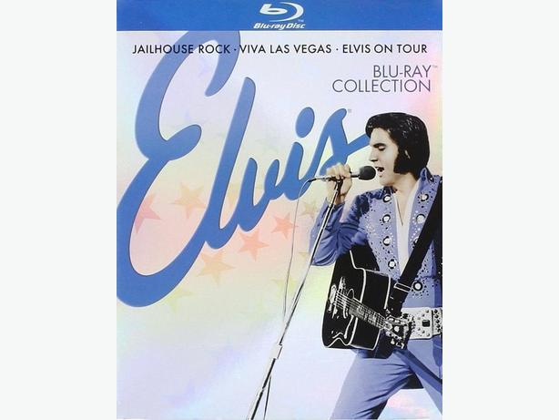 ELVIS Blu-Ray Collection: Jailhouse Rock / Viva Las Vegas / Elvis on Tour