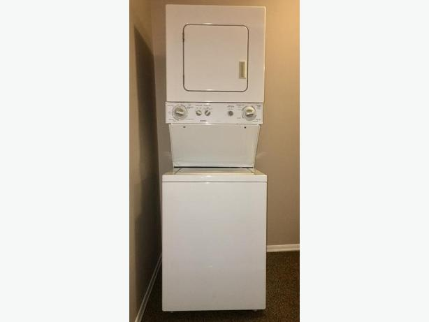 kenmore stacking washer dryer victoria city victoria