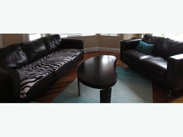 Italsofa Leather Sofa Loveseat Set And Coffee Table