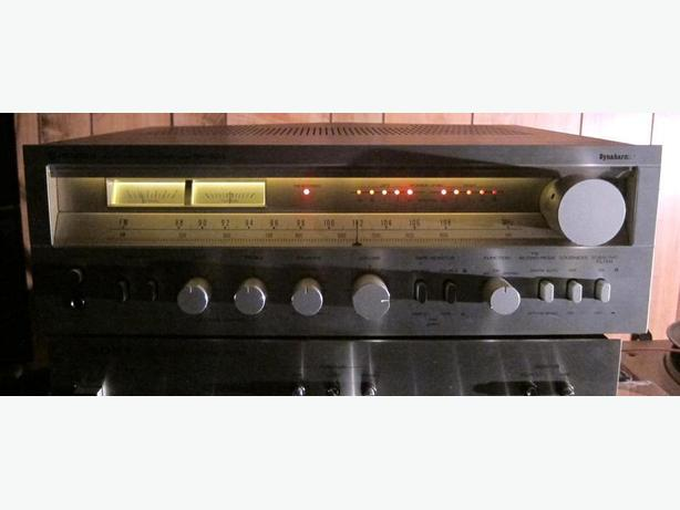 CLASSIC HITACHI SR-604 STEREO RECEIVER DYNAHARMONY CLASS G AMPLIFIER