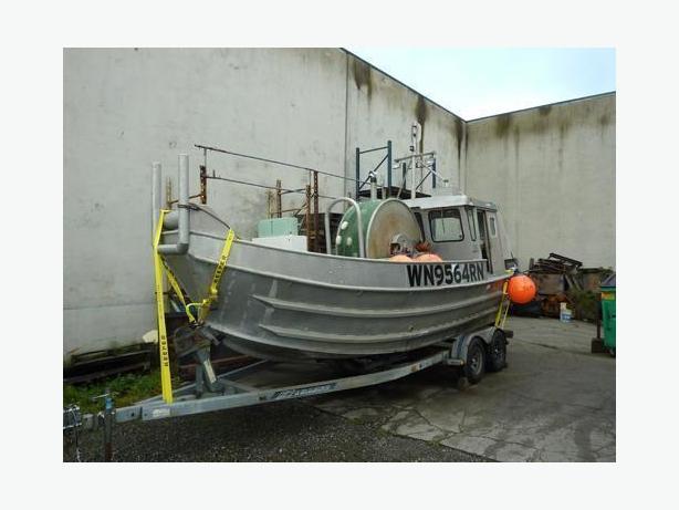 Commercial Fishing Boat For Sale - Gillnetter Bowpicker - Jim Dandy