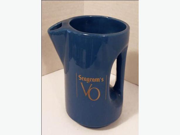 Collectible SEAGRAM'S VO Pitcher