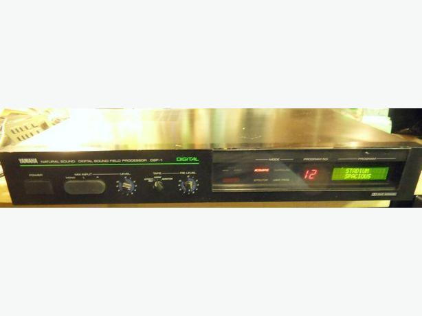 Yamaha Digital Sound Field Processor Model SP-1