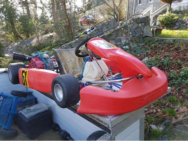 Racing go kart saanich victoria for Go kart interieur montreal