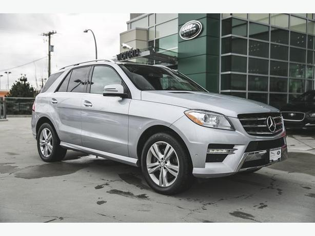 2013 mercedes benz ml350 bluetec diesel awd victoria city for Mercedes benz ml350 bluetec price