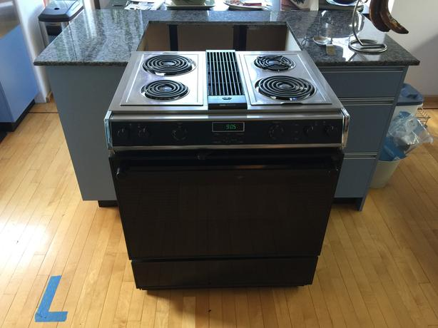 Self Venting Cooktops ~ Jenn air slide in range quot malahat including shawnigan