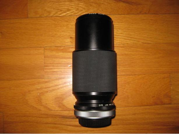 Vivitar zoom camera lens