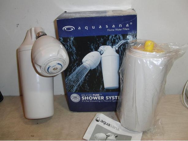 AquaSana Shower Filter with New Cartridge