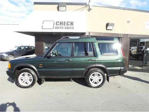 2002 land rover discovery series ii series ii se outside nanaimo parksville qualicum beach. Black Bedroom Furniture Sets. Home Design Ideas