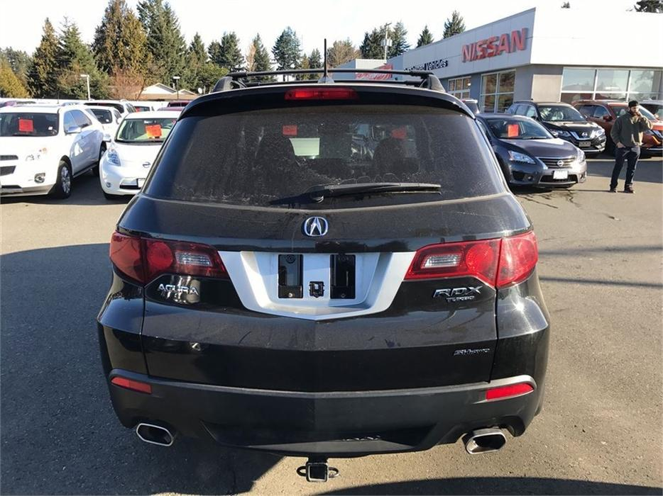 2010 Acura Rdx Base W Technology Package Outside Comox