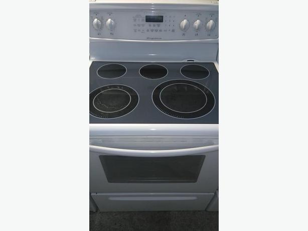 Flat Top Stove ~ Frigidaire flat top stove with self clean and convection
