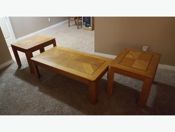 Coffee table and two end tables north regina regina Matching coffee table and end tables