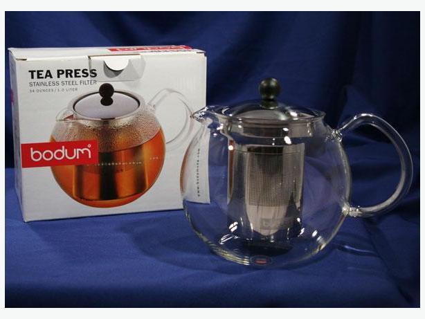 Bodum assam tea press with s s filter 1 0 l 34 oz - Theiere bodum assam 1 litre ...