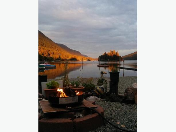 Lake Waterfront Seasonal RV Lot for Sale [on Vancouver Island]