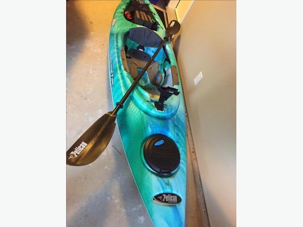 Recreational And Fishing Kayak