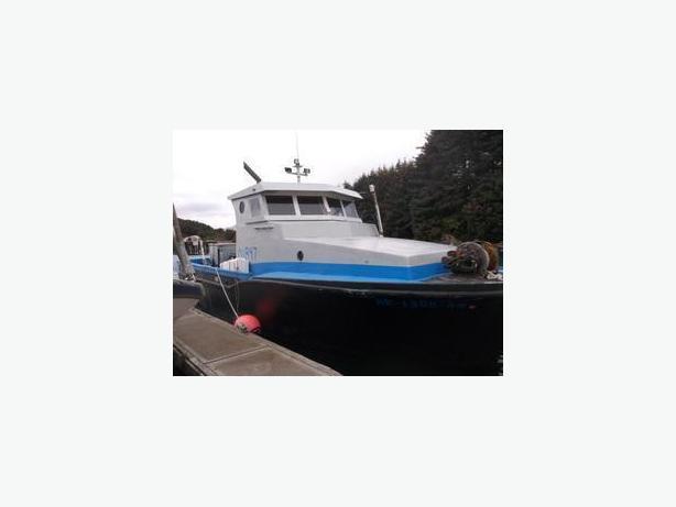 Commercial Fishing Boat - Seiner, Gillnetter - Skagit Bay