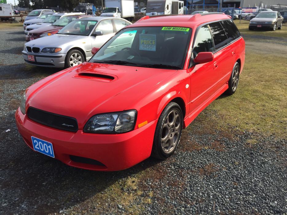 Sale 2001 Subaru Legacy Blitzen Rhd Awd 2 0l 4cyl 120