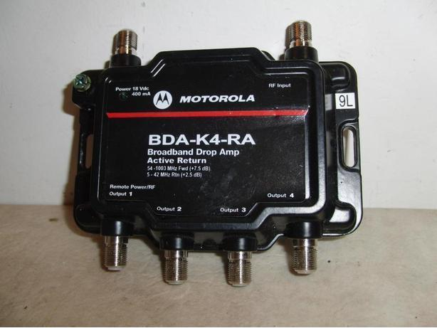 New Motorola TV / Cable Signal Booster
