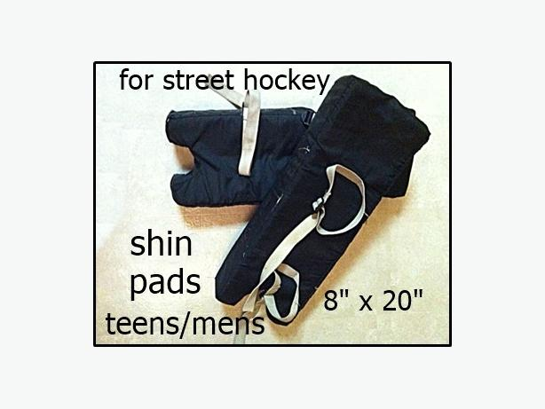 street hockey shins