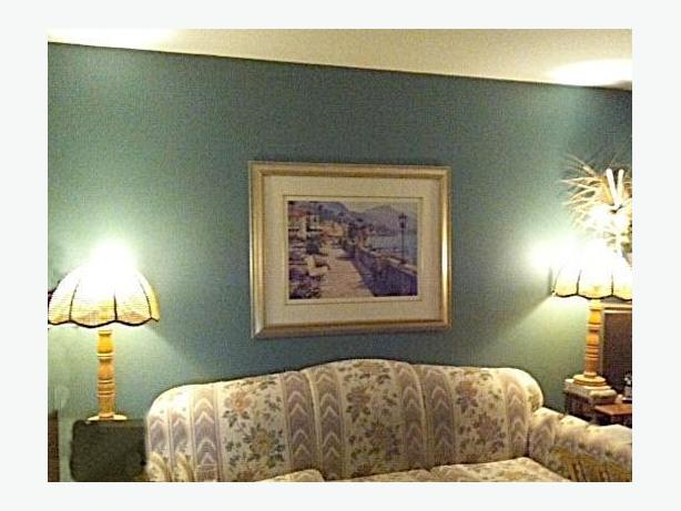 Living Room Wall Picture // Mona Lisa Framed Picture
