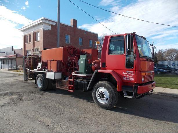 Hot Patch Truck