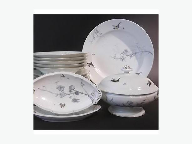 Limoges Luncheon Dishes