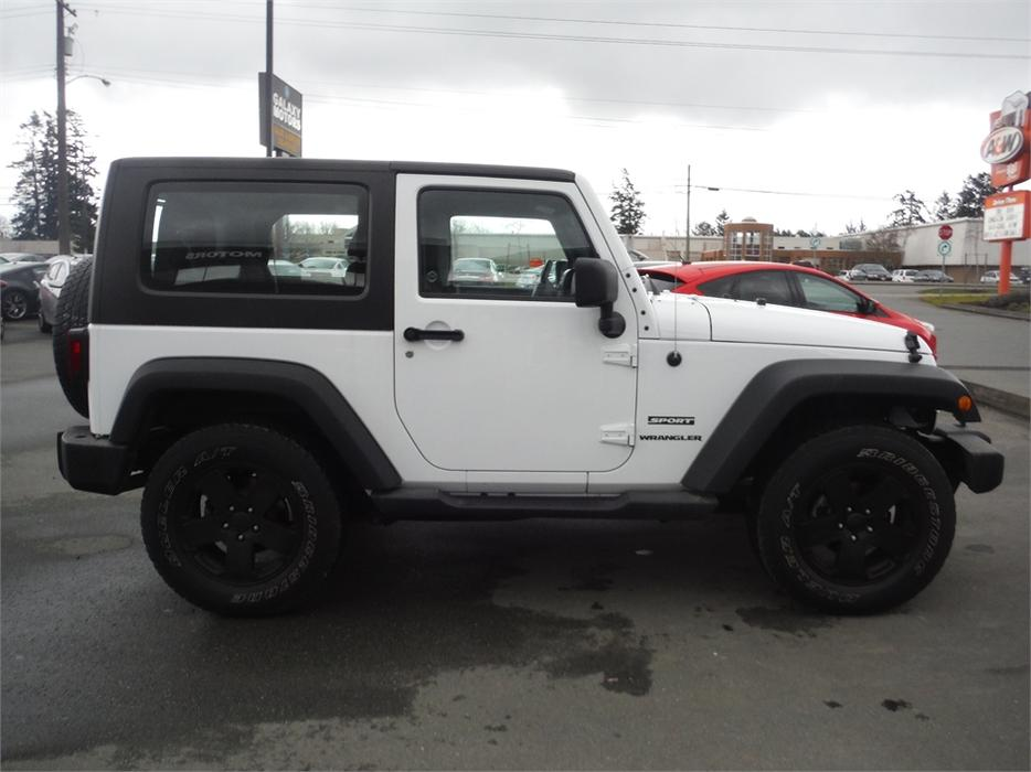 2014 Jeep Wrangler Sport Accident Free Bc Only Hard Top